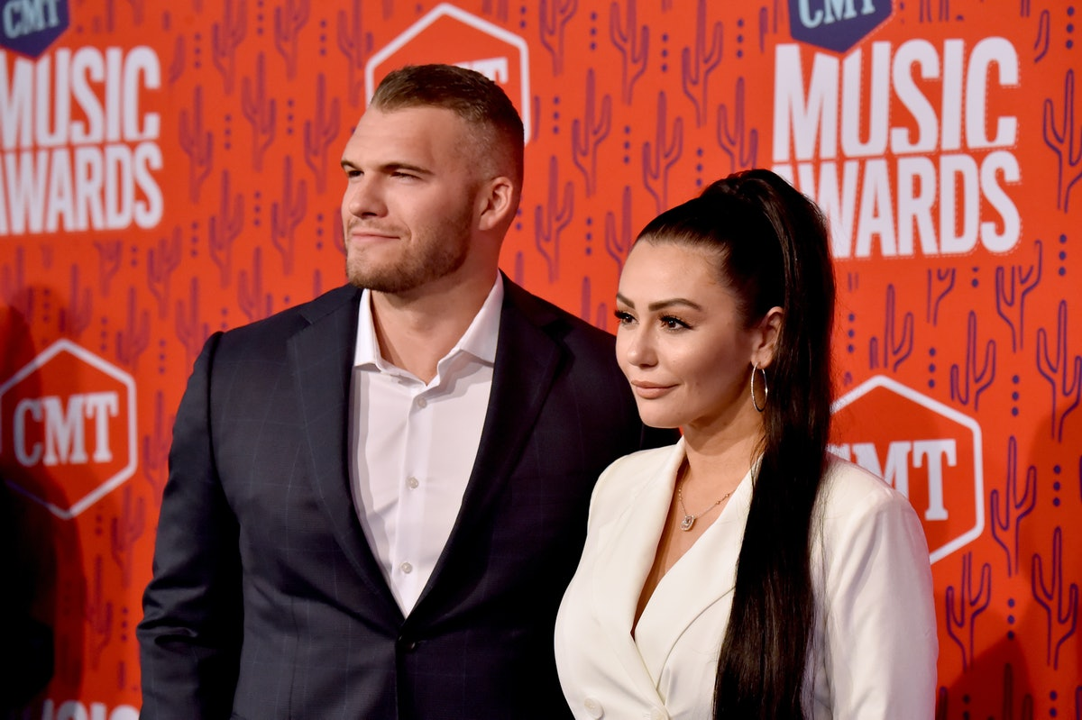 NASHVILLE, TENNESSEE - JUNE 05: Zack Clayton Carpinello and Jenni Farley attend the 2019 CMT Music A...