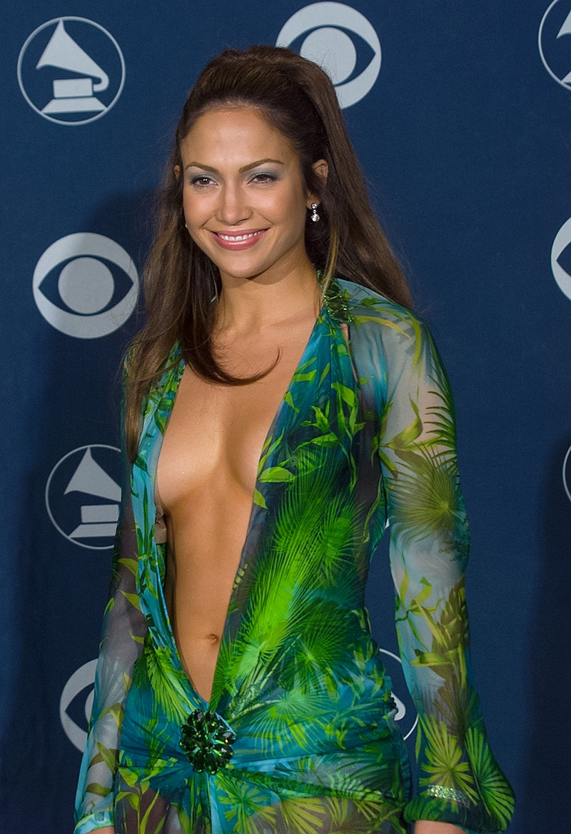 LOS ANGELES - FEBRUARY 23:  Singer Jennifer Lopez backstage at the 42nd Annual Grammy Awards, Februa...