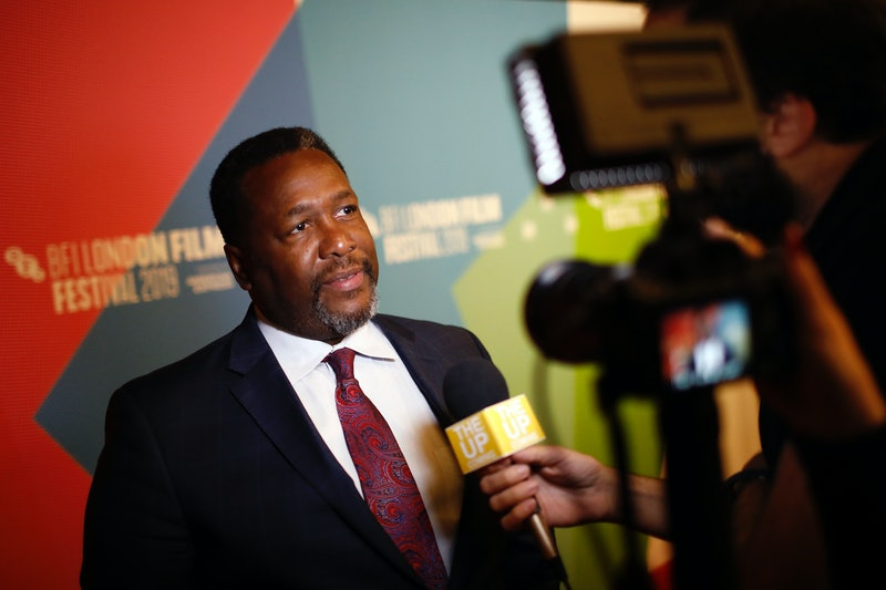 """LONDON, ENGLAND - OCTOBER 02: Wendell Pierce speaks to the media at the """"Clemency"""" UK Premiere during the 63rd BFI London Film Festival at the Vue West End on October 02, 2019 in London, England. (Photo by John Phillips/Getty Images for BFI)"""