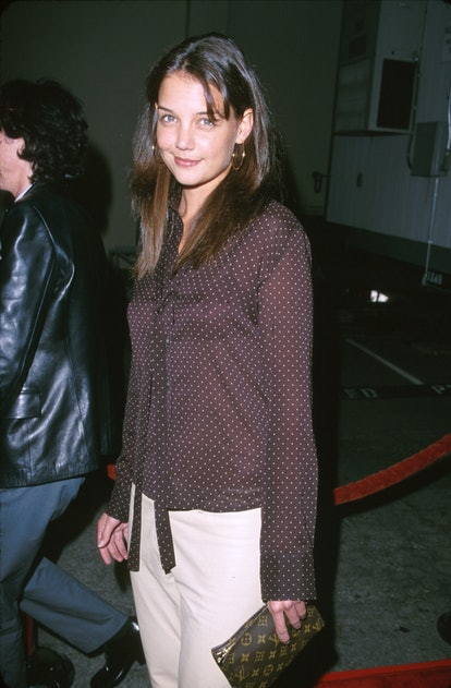 """Katie Holmes during """"Tigerland"""" Los Angeles Premiere at Zanuck Theatre in Los Angeles, California, United States. (Photo by SGranitz/WireImage)"""