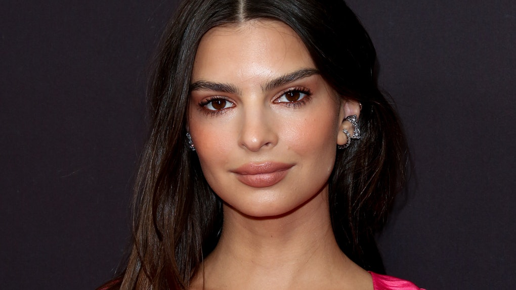 """WEST HOLLYWOOD, CA - NOVEMBER 04:  Actress / Model Emily Ratajkowski attends the """"Welcome Home"""" premiere at The London West Hollywood on November 4, 2018 in West Hollywood, California.  (Photo by Paul Archuleta/FilmMagic)"""