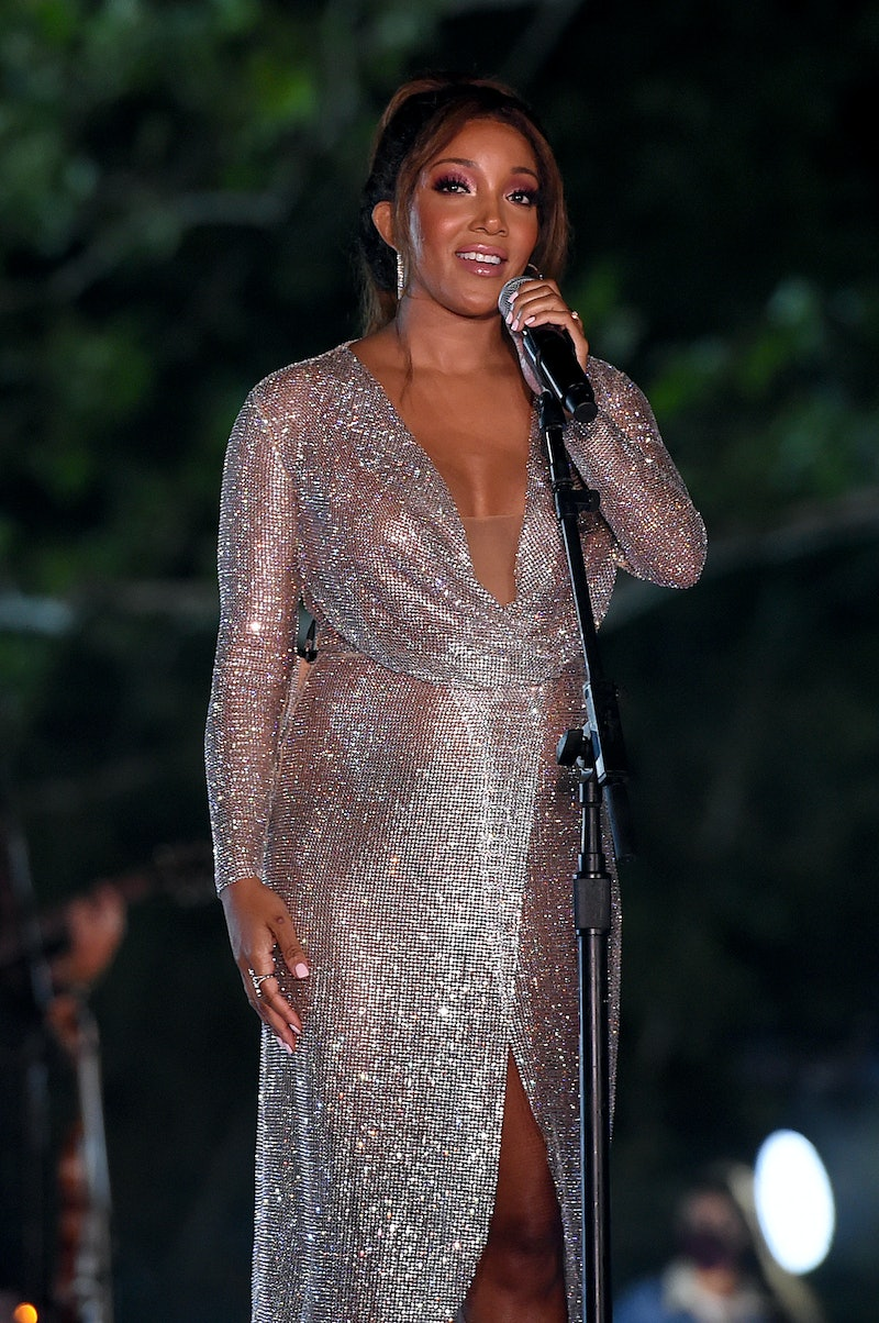 ARRINGTON, TENNESSEE - OCTOBER 21: In this image released on October 21, Mickey Guyton performs onstage at the Sycamore Barn in Arrington, Tennessee for the 2020 CMT Awards broadcast on Wednesday October 21, 2020. (Photo by John Shearer/CMT2020/Getty Images for CMT)