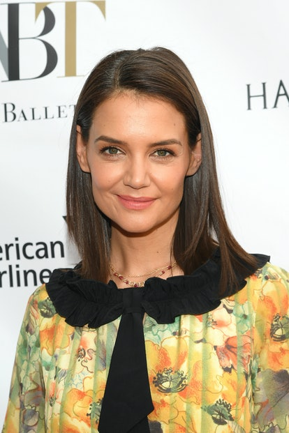 NEW YORK, NEW YORK - MAY 20: Actress Katie Holmes attends the American Ballet Theatre 2019 Spring Gala at The Metropolitan Opera House on May 20, 2019 in New York City. (Photo by Mike Coppola/Getty Images)