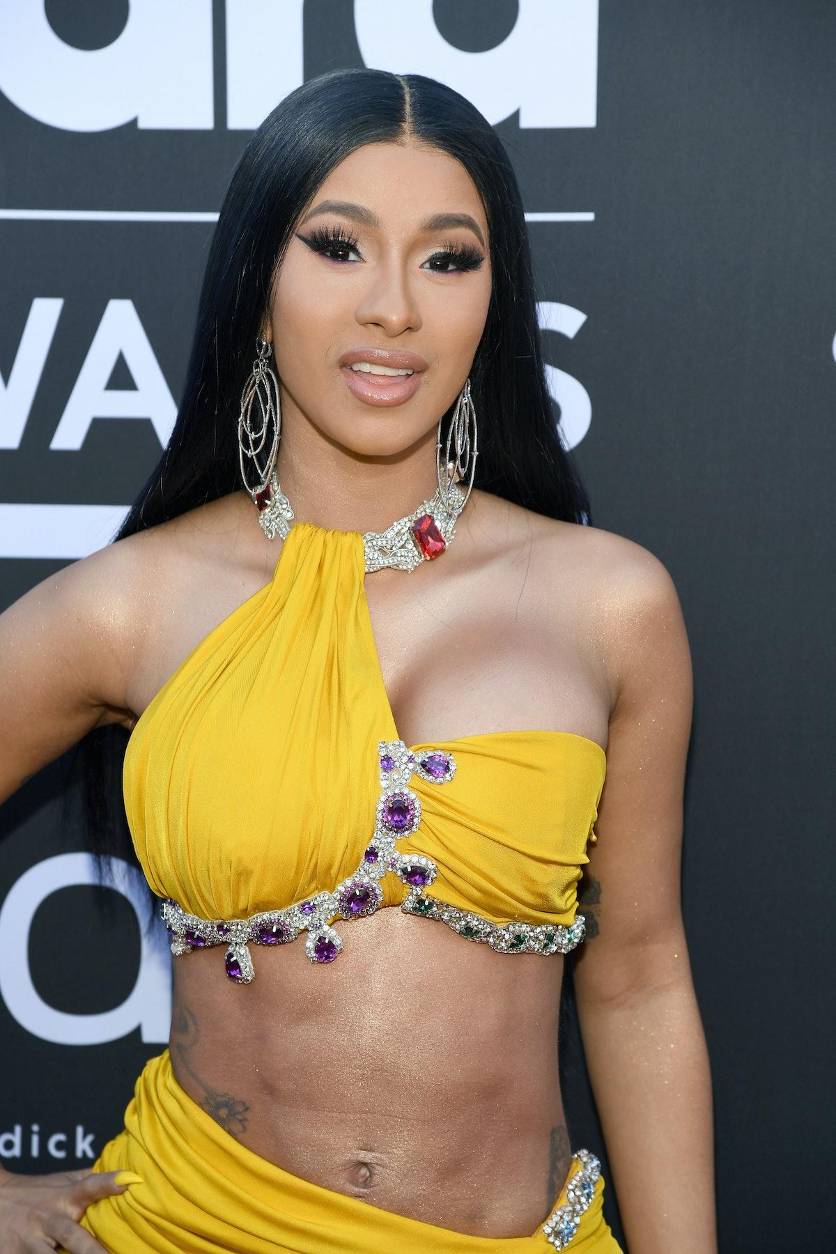 LAS VEGAS, NV - MAY 01:  Cardi B attends the 2019 Billboard Music Awards at MGM Grand Garden Arena o...