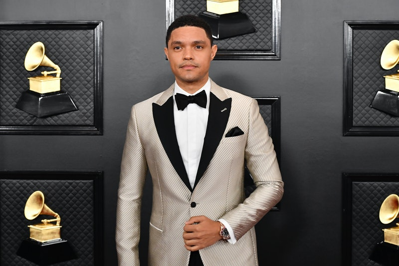 LOS ANGELES, CALIFORNIA - JANUARY 26: Trevor Noah attends the 62nd Annual GRAMMY Awards at STAPLES Center on January 26, 2020 in Los Angeles, California. (Photo by Frazer Harrison/Getty Images for The Recording Academy)