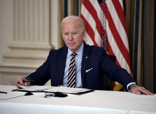 President Biden thinks July 4 might see a return to some normalcy.