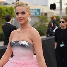 LOS ANGELES, CA - FEBRUARY 10:  Katy Perry attends the 61st Annual GRAMMY Awards at Staples Center on February 10, 2019 in Los Angeles, California.  (Photo by Matt Winkelmeyer/Getty Images for The Recording Academy)