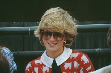 Princess Diana Warm & Wonderful sheep sweater