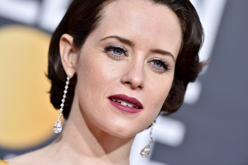 BEVERLY HILLS, CA - JANUARY 06:  Claire Foy attends the 76th Annual Golden Globe Awards at The Beverly Hilton Hotel on January 6, 2019 in Beverly Hills, California.  (Photo by Axelle/Bauer-Griffin/FilmMagic)