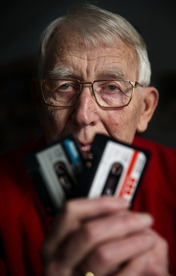 Lou Ottens, inventor of the cassette tape. He died on March 10, 2021 at the age of 94 at his home in...