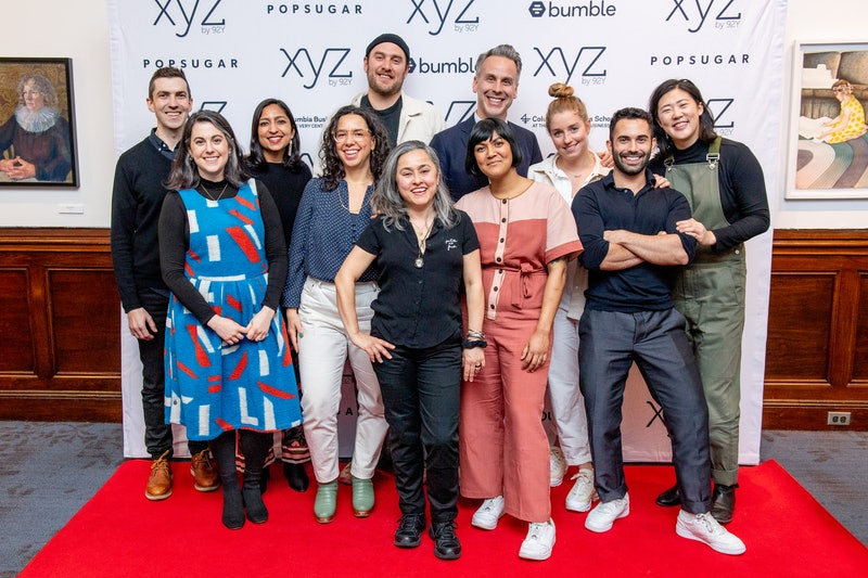 NEW YORK, NEW YORK - FEBRUARY 27: (L-R) Chris Morocco, Claire Saffitz, Priya Krishna, Carla Lalli Music, Brad Leone, Gaby Melian, Sohla El-Waylly, Adam Rapoport, Molly Baz, Andy Baraghani and Christina Chaey attend Behind-The-Scenes Conversation With The Bon Appetit Test Kitchen at 92nd Street Y on February 27, 2020 in New York City. (Photo by Roy Rochlin/Getty Images)