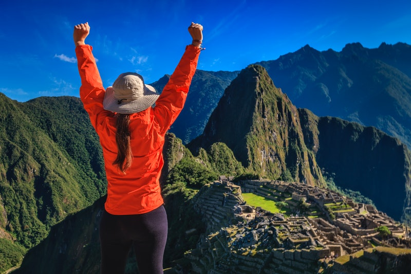 """Machu Picchu (Quechua: Machu Picchu) – """"Old Mountain"""", is a pre-Columbian Inca  site located 2,430 m..."""