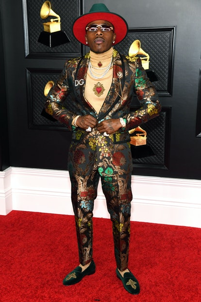 LOS ANGELES, CALIFORNIA - MARCH 14: DaBaby attends the 63rd Annual GRAMMY Awards at Los Angeles Conv...