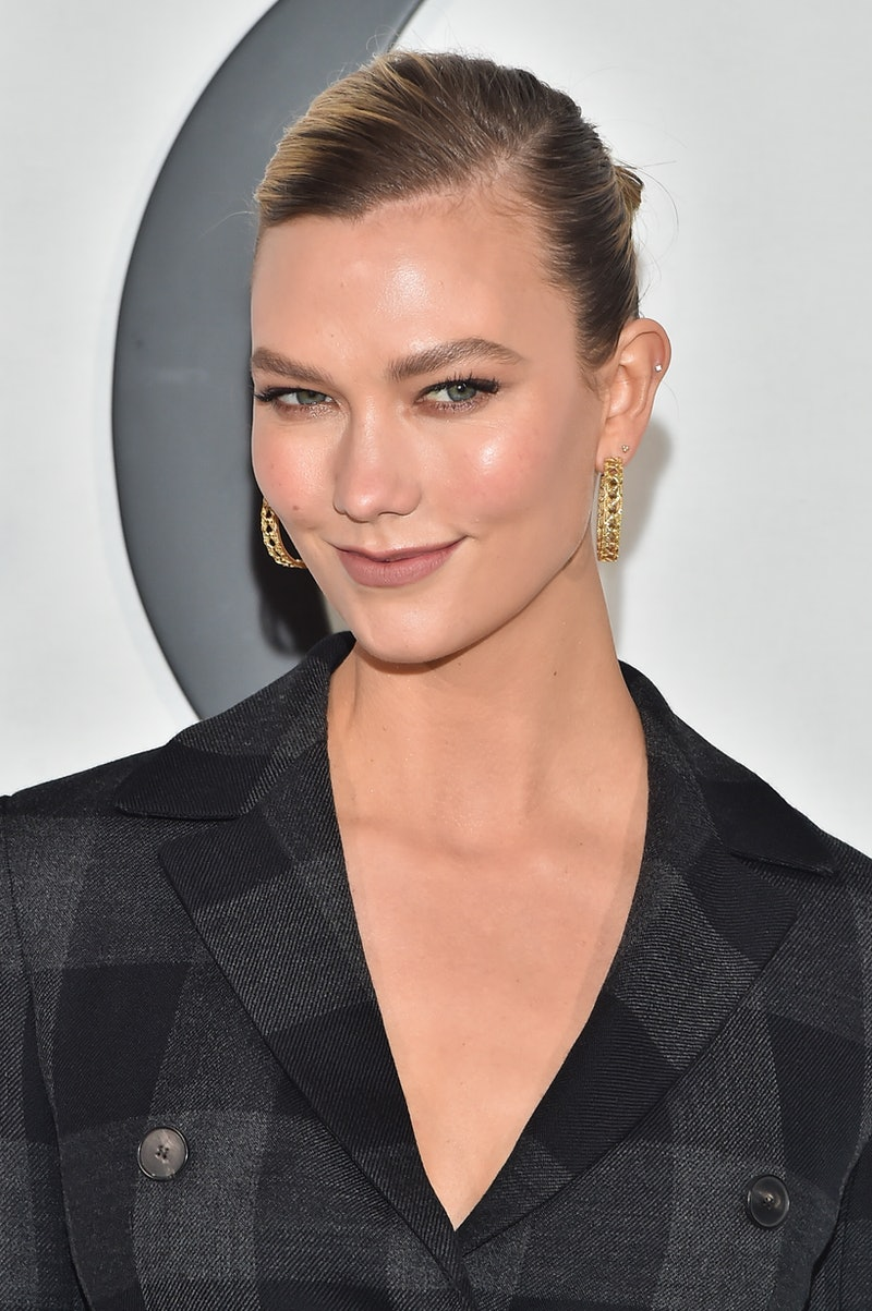 PARIS, FRANCE - FEBRUARY 25: (EDITORIAL USE ONLY) Karlie Kloss attends the Dior show as part of the Paris Fashion Week Womenswear Fall/Winter 2020/2021 on February 25, 2020 in Paris, France. (Photo by Stephane Cardinale - Corbis/Corbis via Getty Images)
