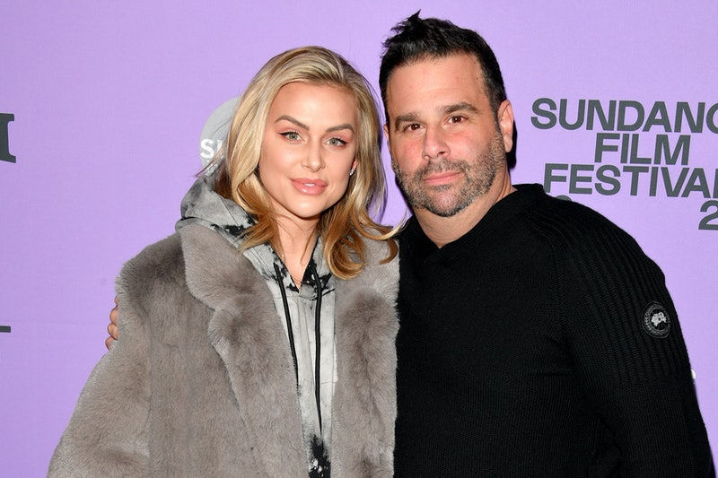 "PARK CITY, UTAH - JANUARY 24: Lala Kent and producer Randall Emmett attend the 2020 Sundance Film Festival -  ""Spree"" Premiere at The Marc Theatre on January 24, 2020 in Park City, Utah. (Photo by George Pimentel/Getty Images)"