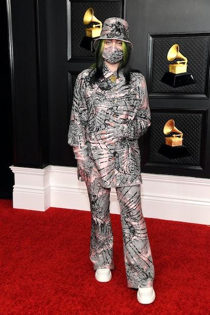Billie Eilish 2021 Grammy Awards Gucci