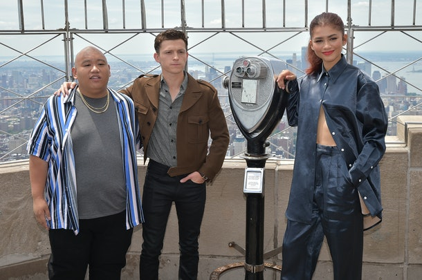Tom Holland said he would like to guest star on Zendaya's HBO show 'Euphoria' with Jacob Batalon due to their bond in 'Spider-Man' movies.