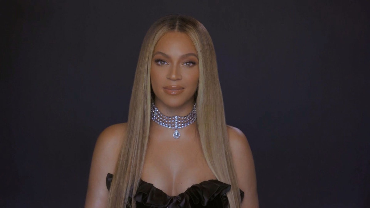 VARIOUS CITIES - JUNE 28: In this screengrab, Beyoncé is seen during the 2020 BET Awards. The 20th a...