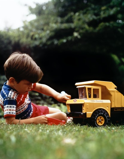 People are remembering their heavy Tonka trucks with fondness.