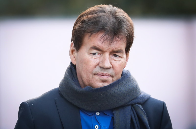 Former Belgian politician Bernard Wesphael arrives for the second day of his  trial before the Assiz...