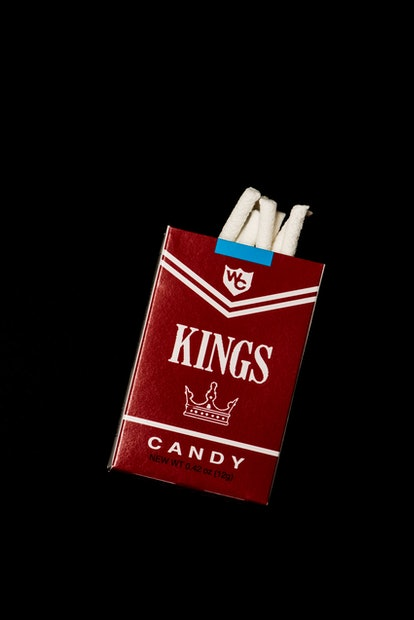 Kids used to play with candy cigarettes all the time.