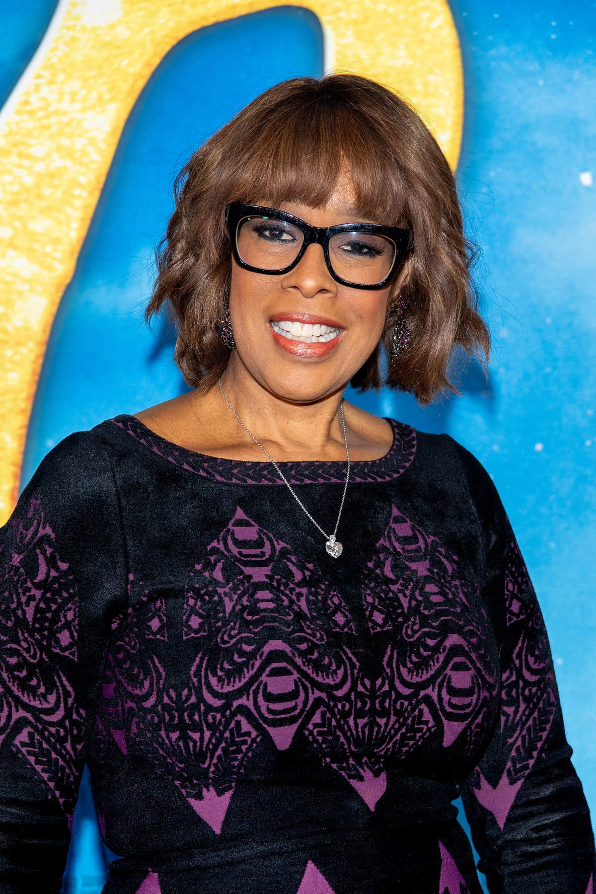 """NEW YORK, NEW YORK - DECEMBER 16: Gayle King attends the """"Cats"""" World Premiere at Alice Tully Hall, Lincoln Center on December 16, 2019 in New York City. (Photo by Roy Rochlin/FilmMagic)"""