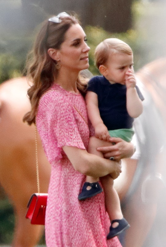 Kate Middleton's son Prince Louis looks just like her in a recently shared childhood photo.