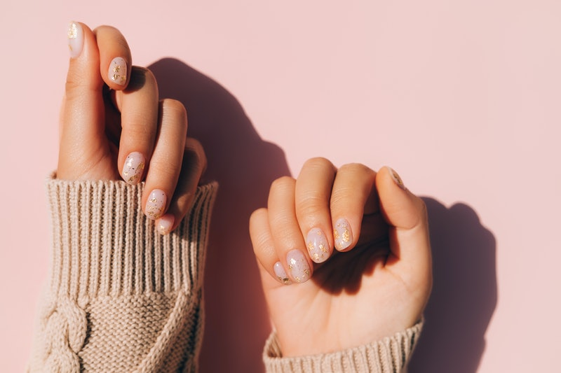 How to use press-on nails for the easiest manicure ever.
