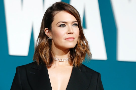 Mandy Moore arrives for the Premiere of 'Midway' at Regency Village Theatre on November 05, 2019 in Westwood, California.  (Photo by Kurt Krieger/Corbis via Getty Images)