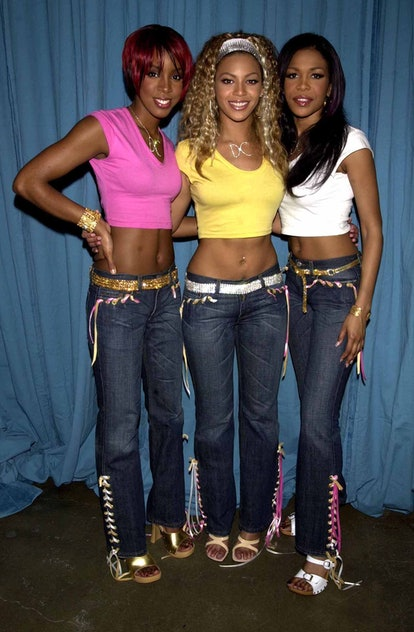 Destiny's Child - Kelly Rowland, Beyonce Knowles, & Michelle Williams (Photo by KMazur/WireImage)