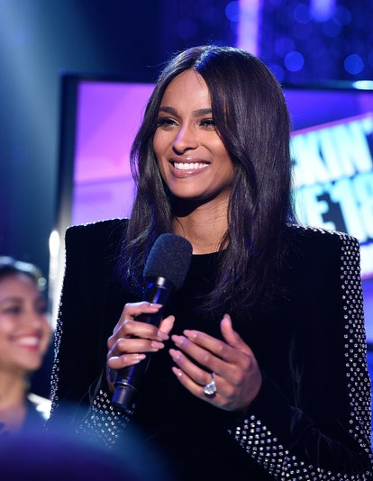 LOS ANGELES, CA - DECEMBER 31:  Ciara onstage at Dick Clark's New Year's Rockin' Eve with Ryan Seacrest 2018 on December 31, 2017 in Los Angeles, California.  (Photo by Kevork Djansezian/Getty Images for dcp)