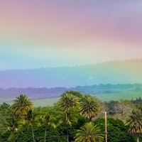 A virtual tour of the scientifically best place for rainbows