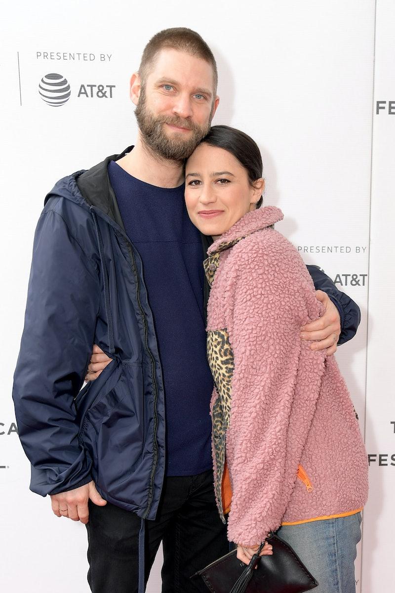 "NEW YORK, NEW YORK - APRIL 28: David Rooklin and Ilana Glazer attend the ""Lucky Grandma"" screening d..."