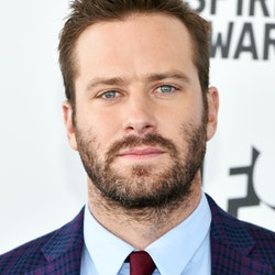 SANTA MONICA, CALIFORNIA - FEBRUARY 23: Armie Hammer attends the 2019 Film Independent Spirit Awards on February 23, 2019 in Santa Monica, California. (Photo by John Shearer/Getty Images)