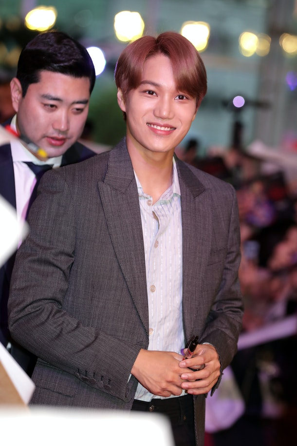 SEOUL, SOUTH KOREA - JUNE 20: Kai of South Korean boy band EXO-K attends Netflix's 'Stranger Things 3' Seoul Premiere on June 20, 2019 in Seoul, South Korea. The drama will open on July 04, in South Korea.  (Photo by Han Myung-Gu/WireImage)