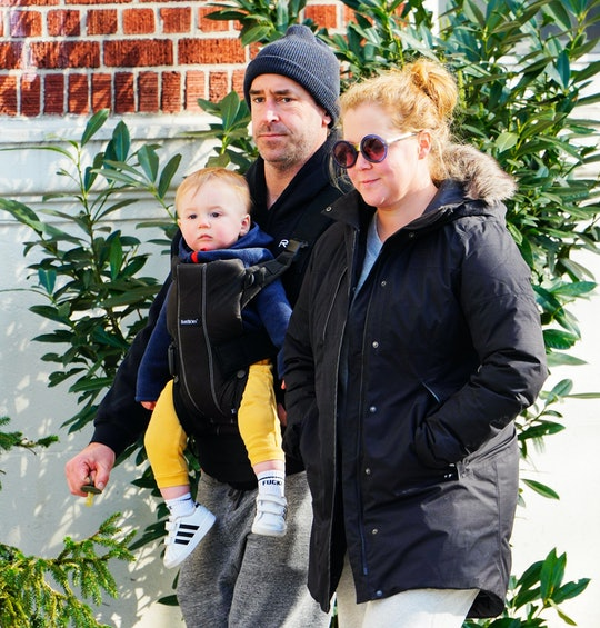Amy Schumer's son Gene is too cute for words.