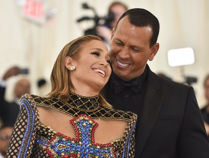 Jennifer Lopez's Mercury zodiac sign is in fire sign Leo, while Alex Rodriguez' Mercury zodiac sign is in water sign Cancer.