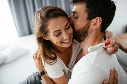 You can lay in bed for a little longer after intercourse to make sure the sperm stays where it needs to.