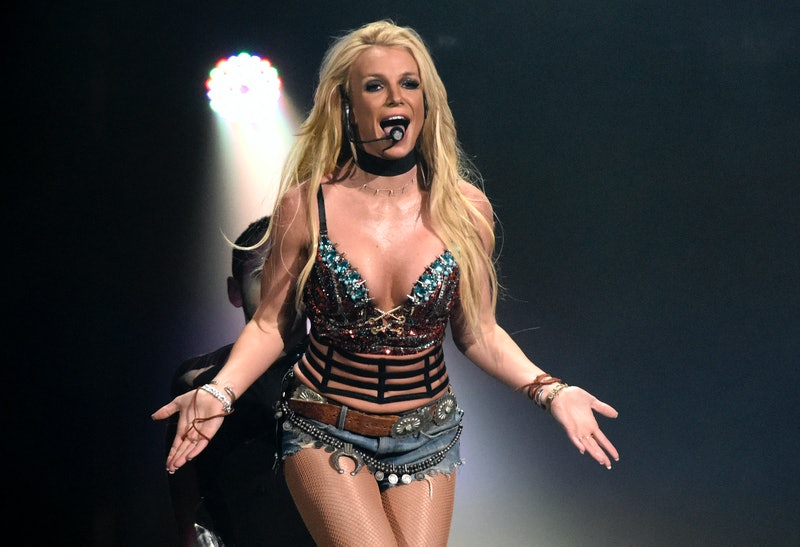 Britney Spears performs during Now! 99.7 Triple Ho Show 7.0 at SAP Center on December 3, 2016 in San...
