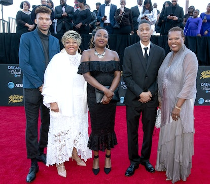 LAS VEGAS, NEVADA - MARCH 29: The family of Aretha Franklin attends the 34th annual Stellar Gospel Music Awards at the Orleans Arena on March 29, 2019 in Las Vegas, Nevada. (Photo by Earl Gibson III/Getty Images )