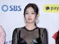 SEOUL, SOUTH KOREA - DECEMBER 25: Jennie of BLACKPINK attends the 2018 SBS Gayo Daejeon 'Battle of t...