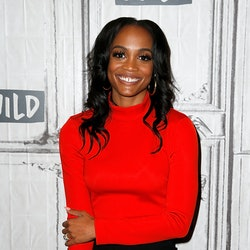 NEW YORK, NEW YORK - SEPTEMBER 30: Rachel Lindsay attends the Build Series to discuss 'The Bachelorette' at Build Studio on September 30, 2019 in New York City. (Photo by Dominik Bindl/Getty Images)