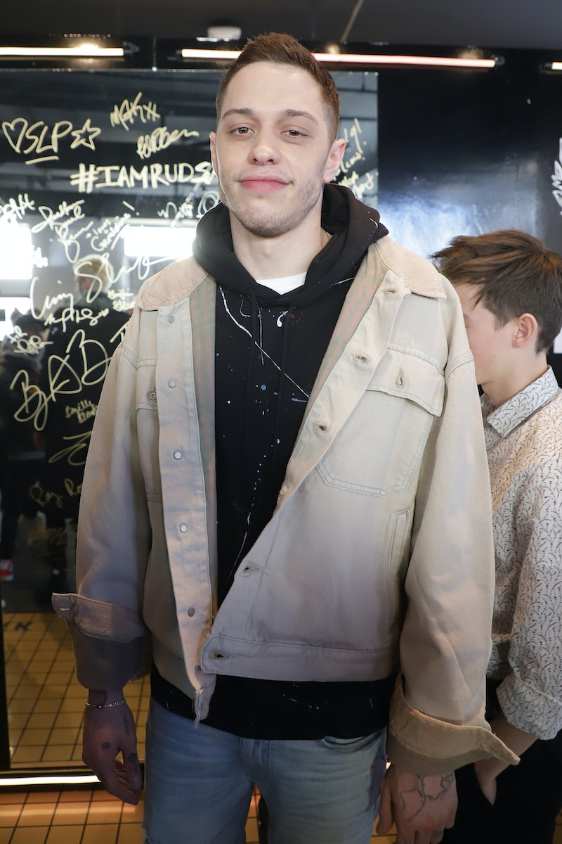 PARK CITY, UT - JANUARY 28:  Pete Davidson from Big Time Adolescence attend The Hollywood Reporter 2019 Sundance Studio At Sky Strada, Park City on January 28, 2019 in Park City, Utah.  (Photo by John Parra/Getty Images for The Hollywood Reporter )