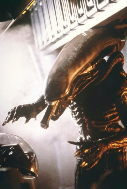 """On the Set of """"Alien"""" (Photo by Sunset Boulevard/Corbis via Getty Images)"""