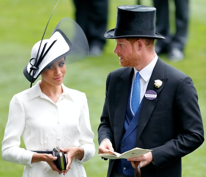 ASCOT, UNITED KINGDOM - JUNE 19: (EMBARGOED FOR PUBLICATION IN UK NEWSPAPERS UNTIL 24 HOURS AFTER CR...