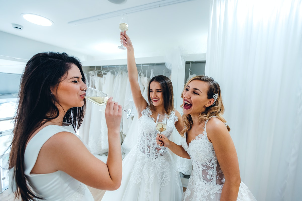 Captions For Saying Yes To The Dress
