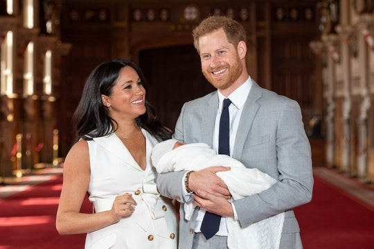 Prince Harry wore the same suit he wore when introducing Archie to the world during his interview with Oprah Winfrey.
