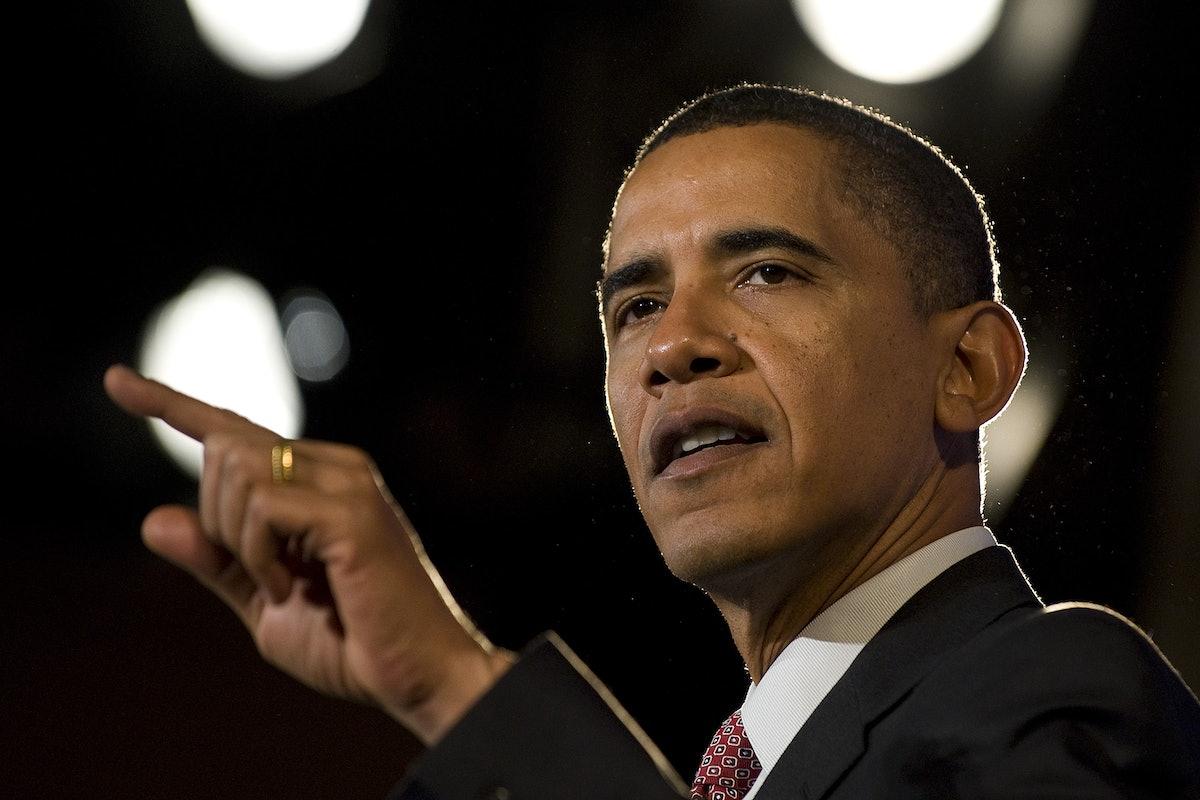 US President Barack Obama delivers remarks at a fundraiser for the Democratic Governors Association ...