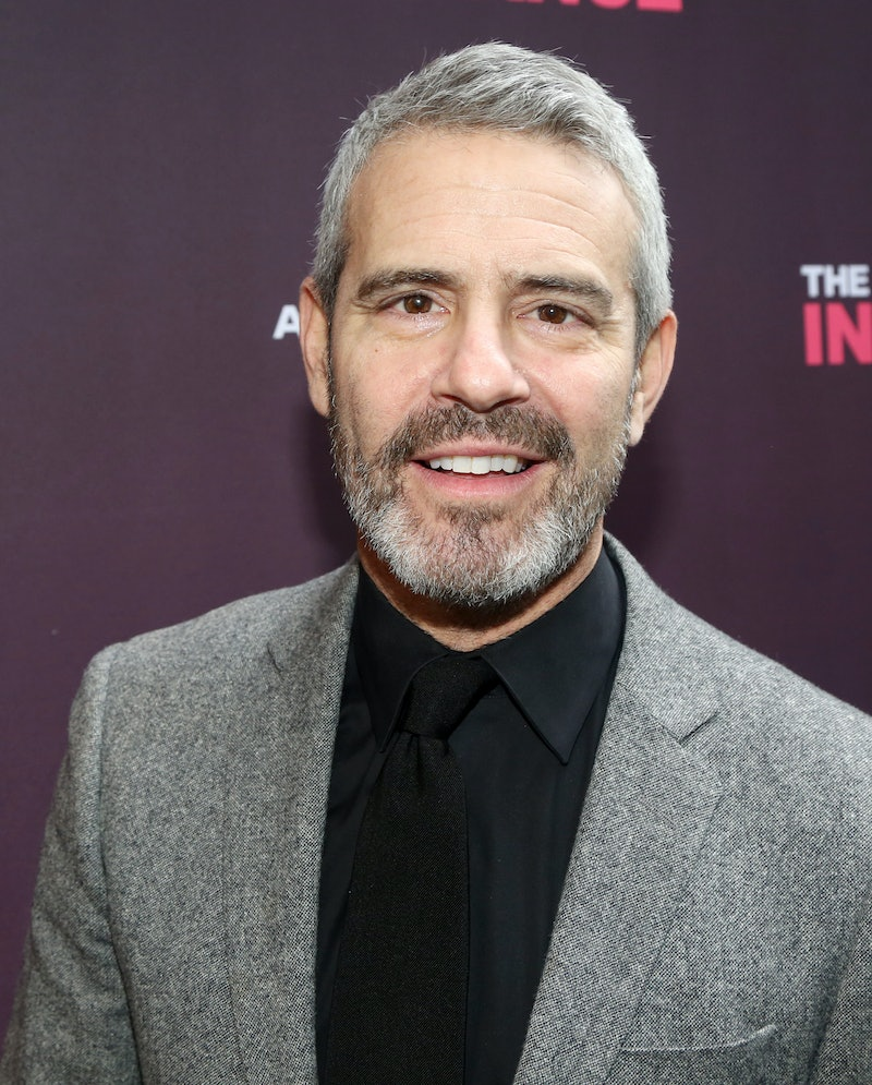 """NEW YORK, NEW YORK -NOVEMBER 17: Andy Cohen poses at the opening night of the new Matthew Lopez play """"The Inheritance"""" on Broadway at The Barrymore Theatre on November 17, 2019 in New York City. (Photo by Bruce Glikas/FilmMagic)"""