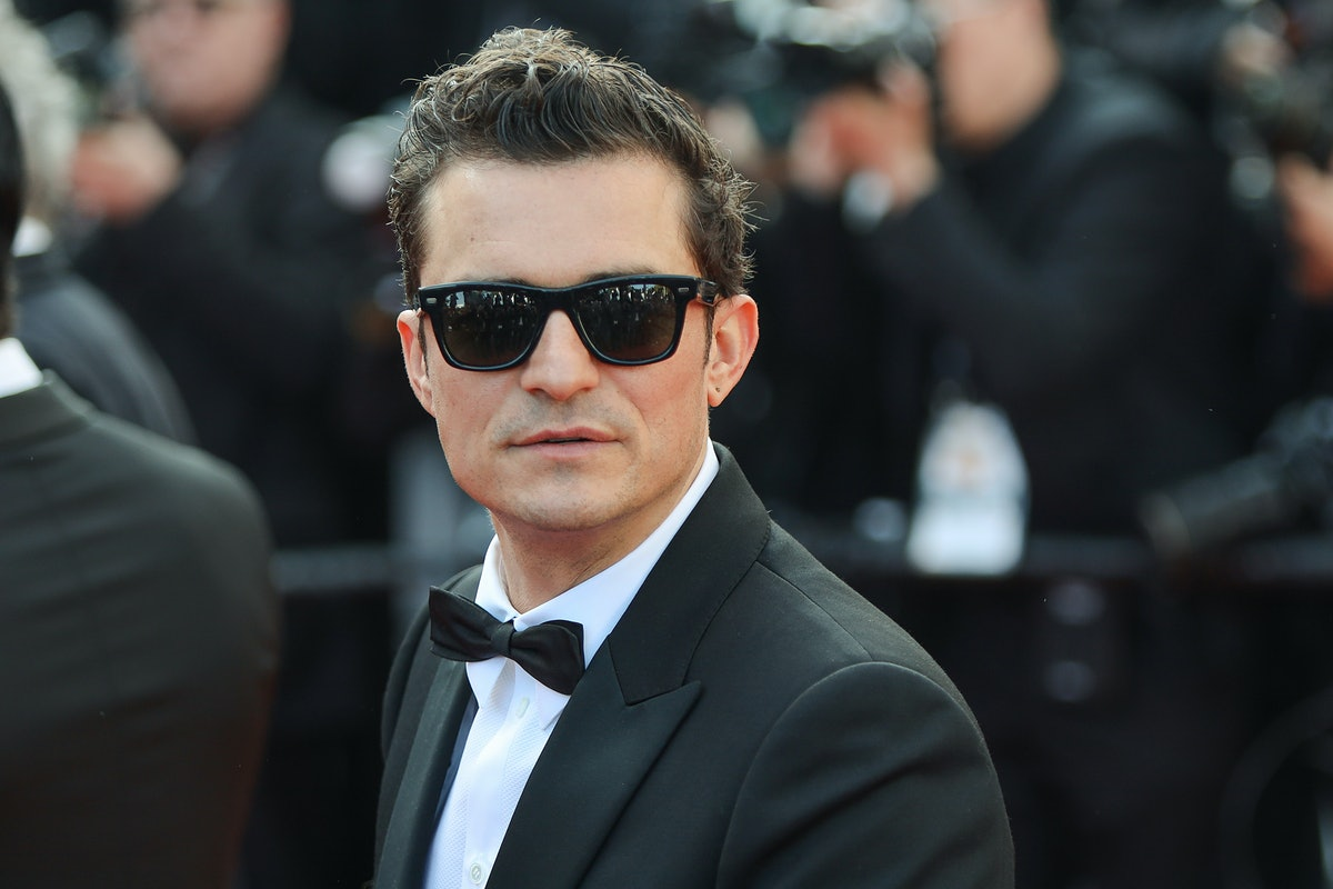 """CANNES, FRANCE - MAY 23: Orlando Bloom attends the screening of """"The Traitor"""" during the 72nd annual..."""